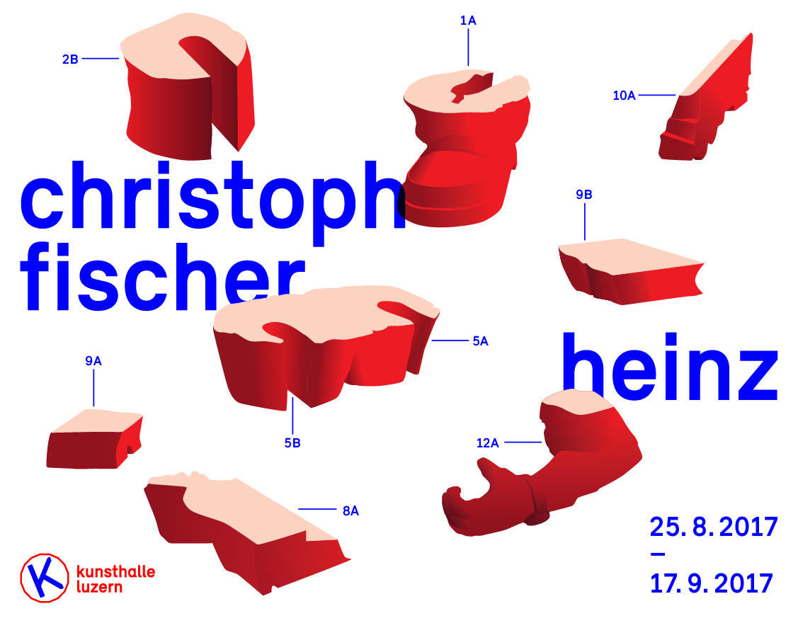 Heinz - Einzelausstellung von Christoph Fischer in der Kunsthalle Luzern