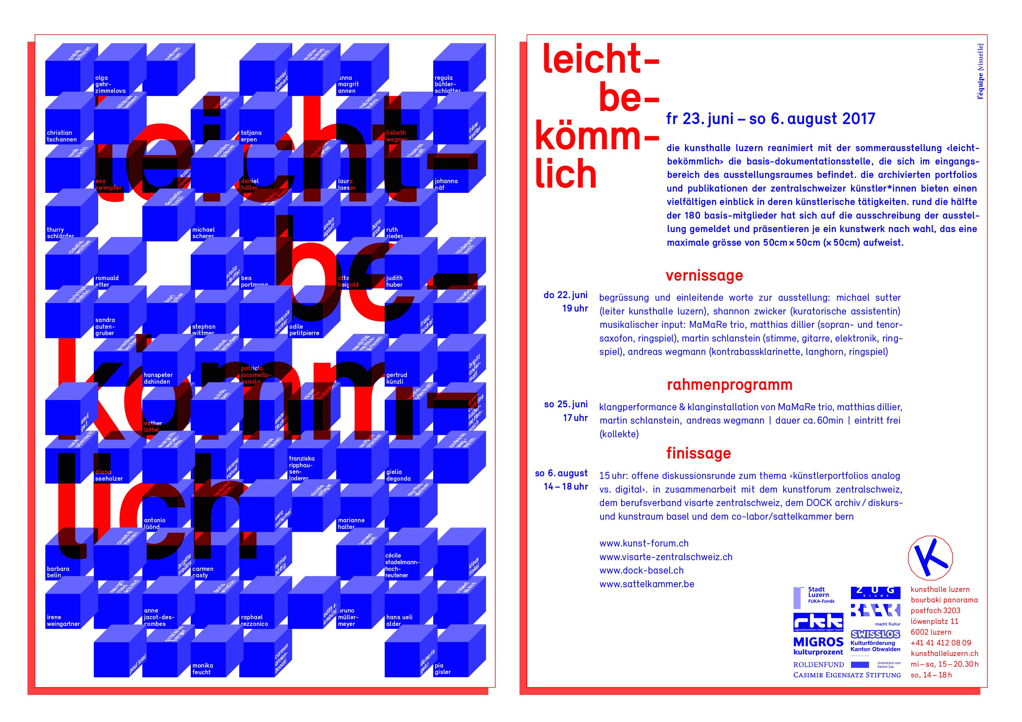 Leichtbekömmlich – Sommerausstellung der BASIS-Dokumentationsstelle