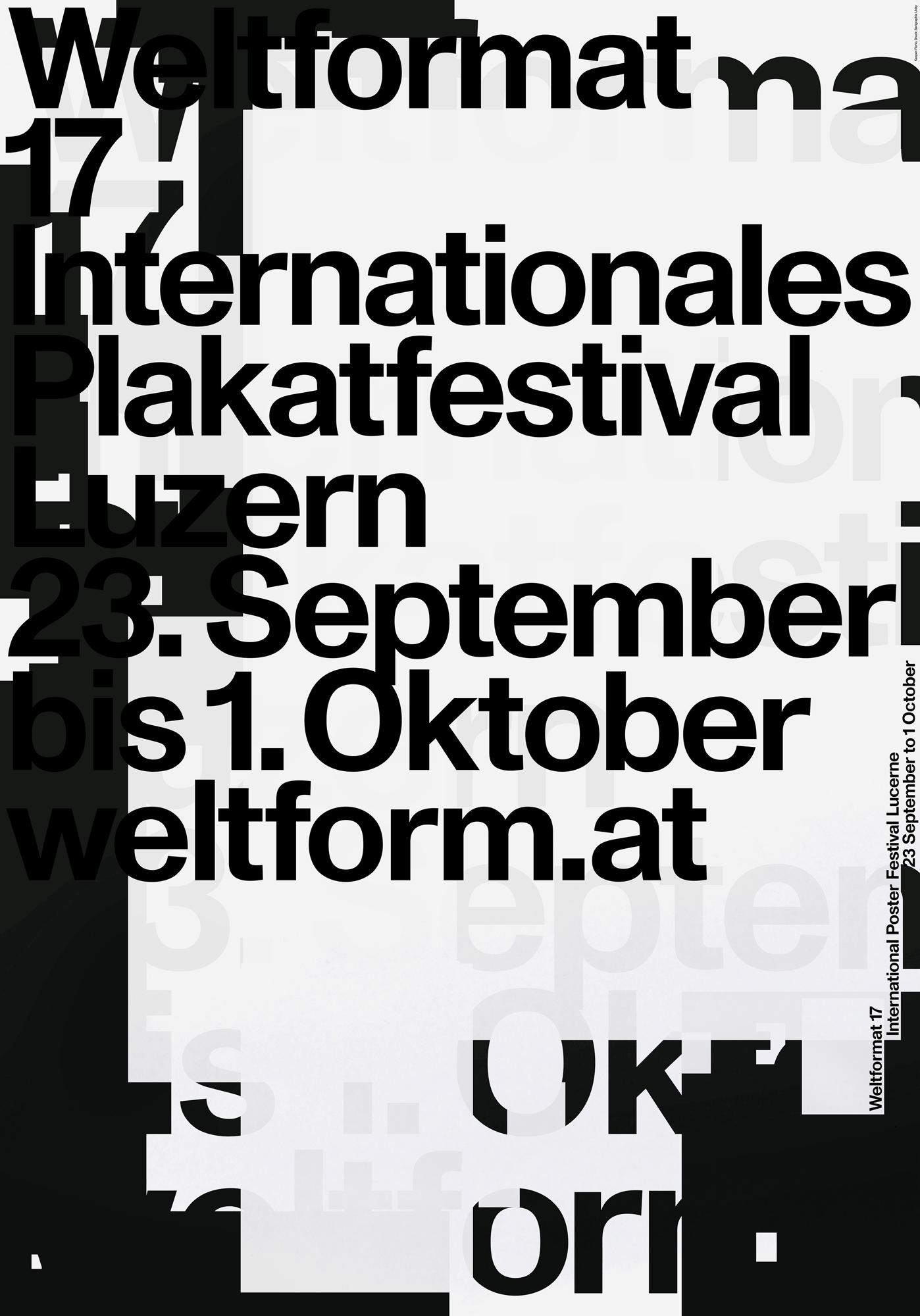 Welformat Plakatfestival
