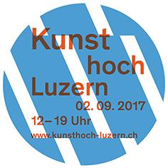 Kunsthoch - gemeinsamer Aktionstag der Luzerner Ausstellungsräume