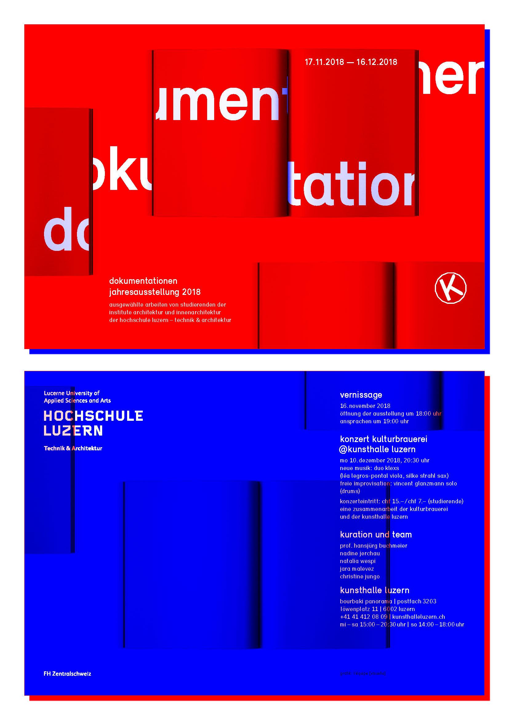 dokumentationen - Hochschule Luzern – Technik & Architektur
