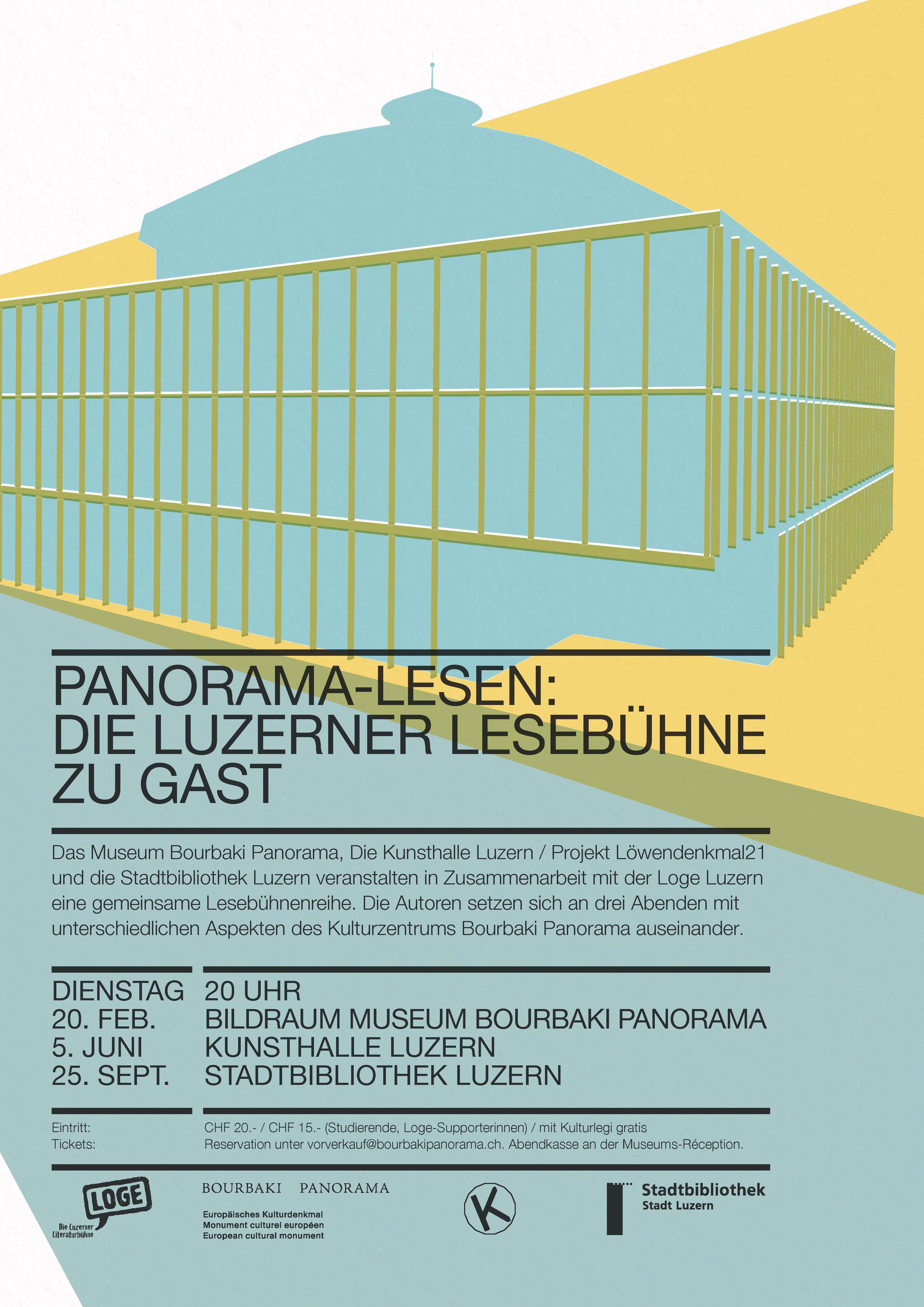 Panorama-Lesen: Die Luzerner Lesebühne zu Gast