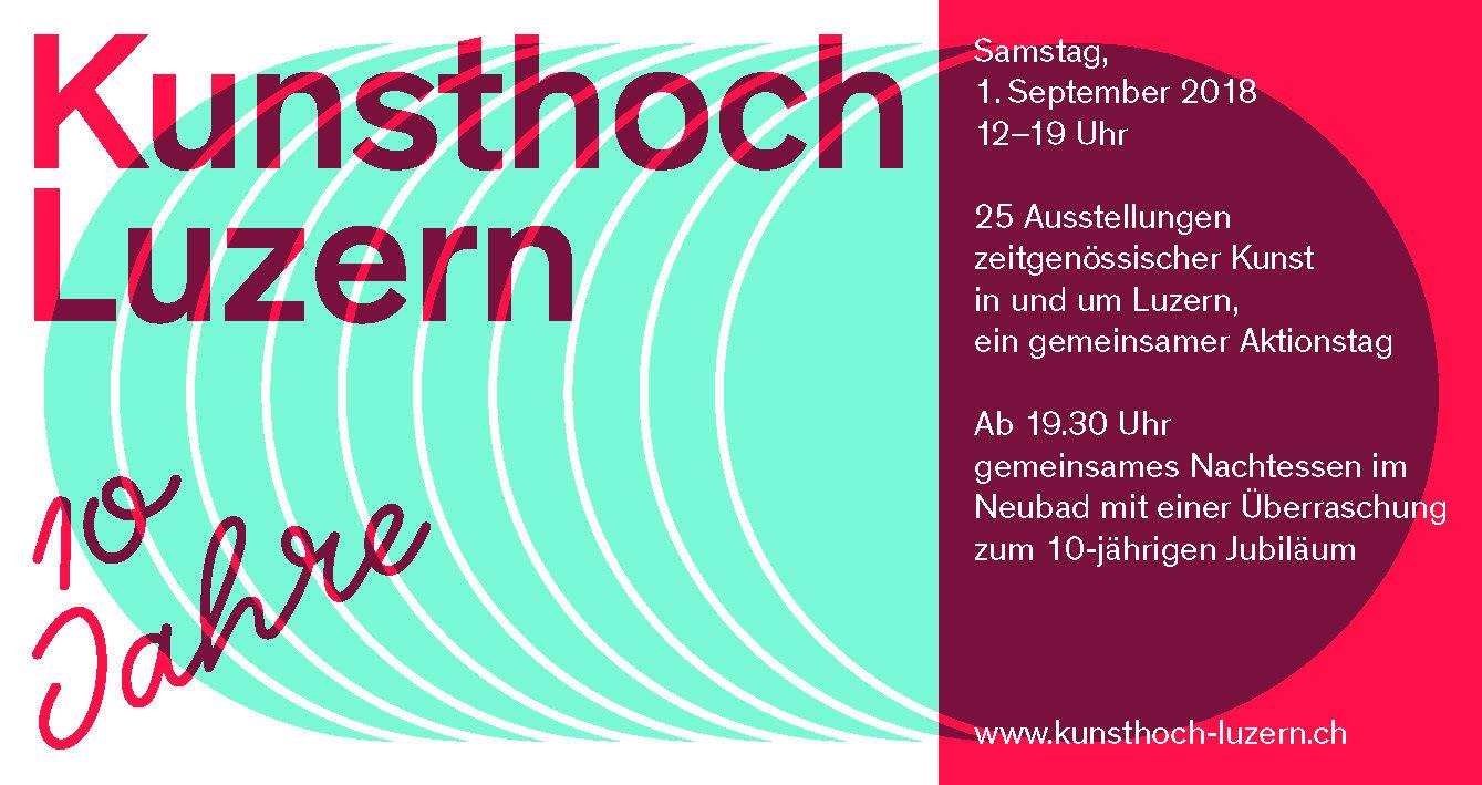 Kunsthoch Luzern 2018