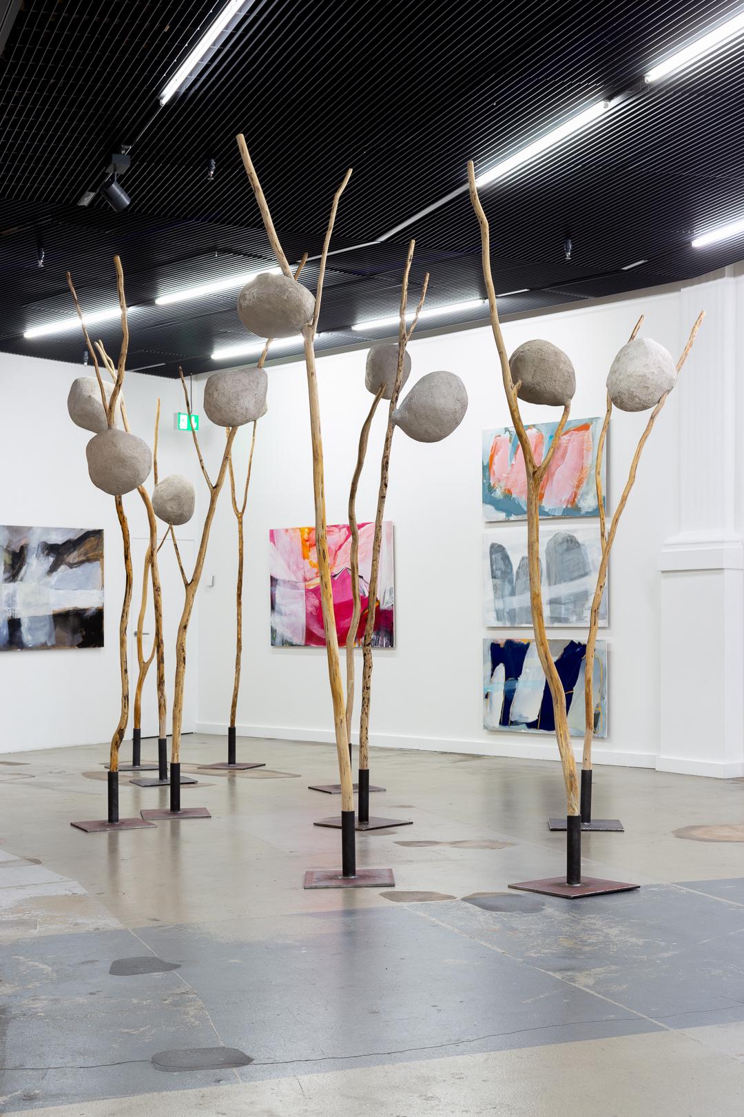 Barbara Gwerder – Ausstellungsansicht Kunsthalle Luzern. Fotografie: Kilian Bannwart, 2020