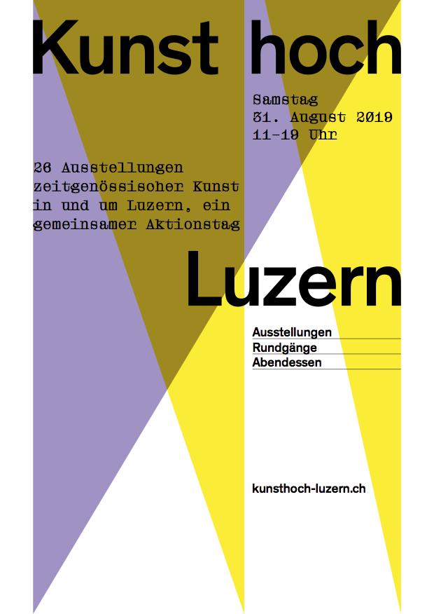 Kunsthoch Luzern 2019