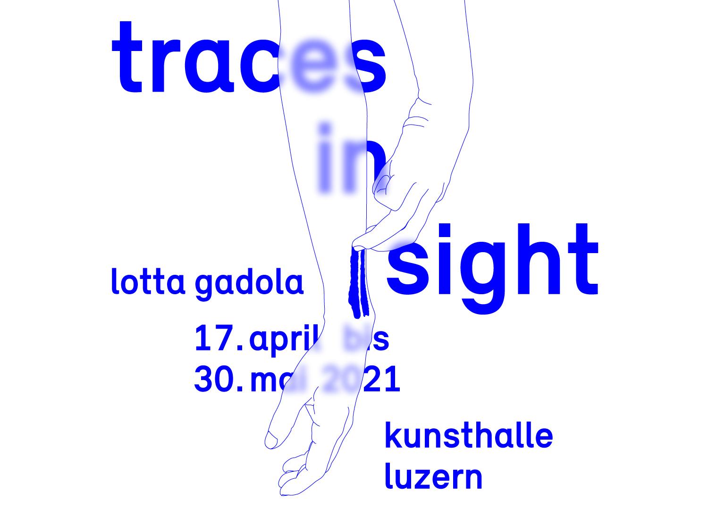 Einzelausstellung Lotta Gadola – Traces in Sight