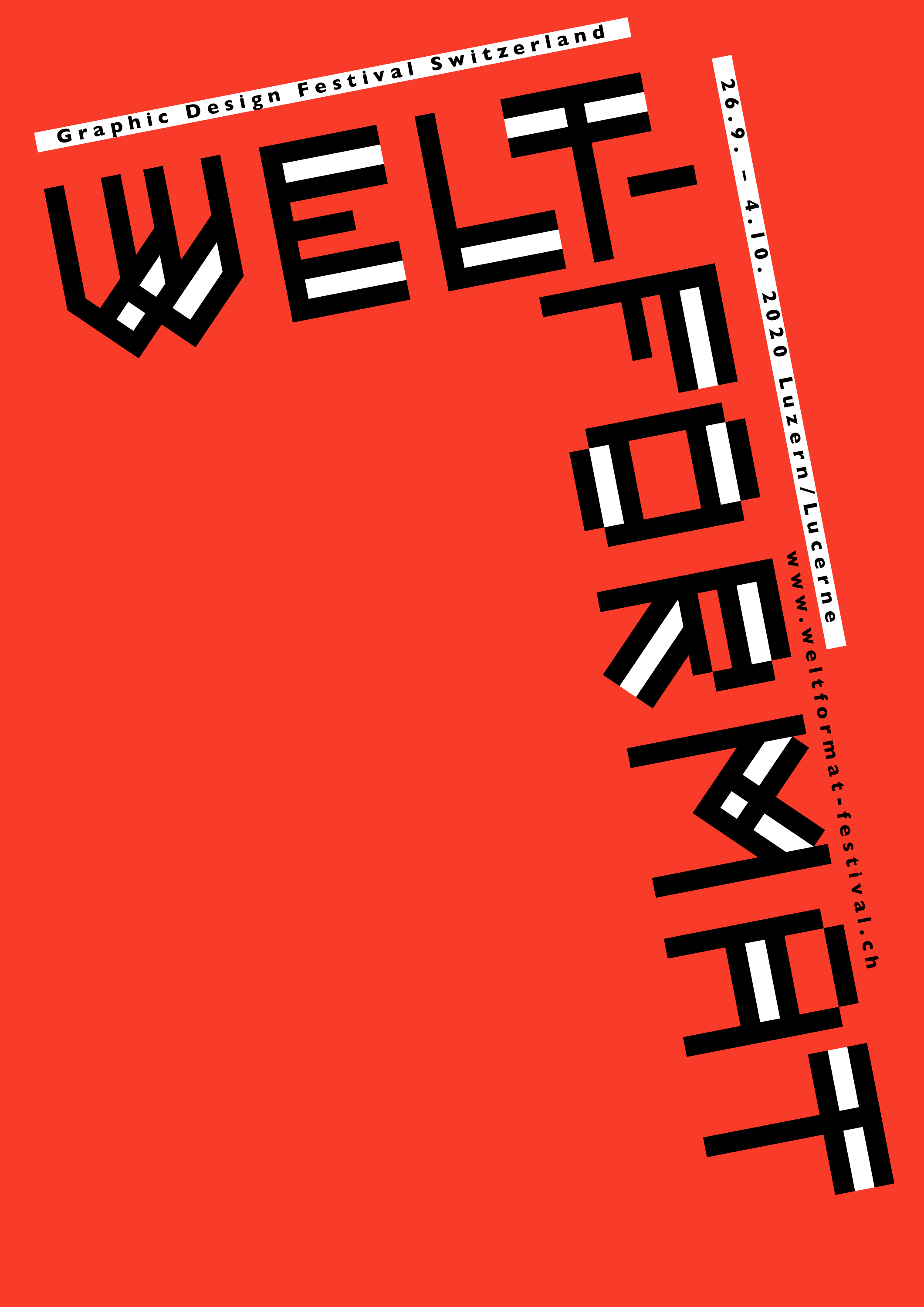 WELTFORMAT 20 - Graphic Design Festival