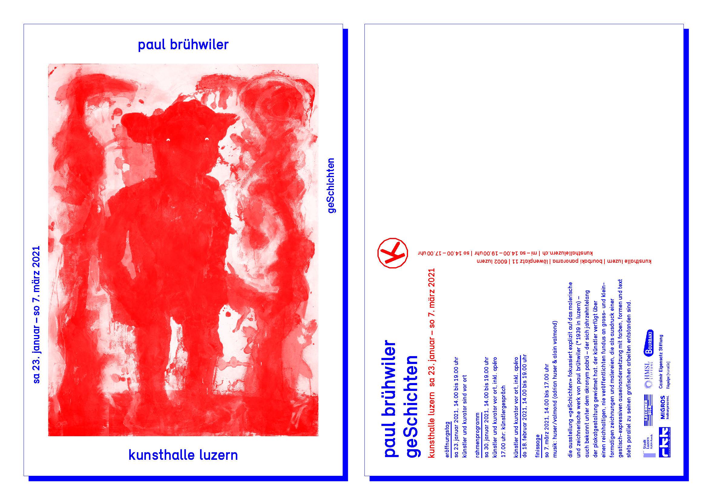 Paul Brühwiler - geSchichten