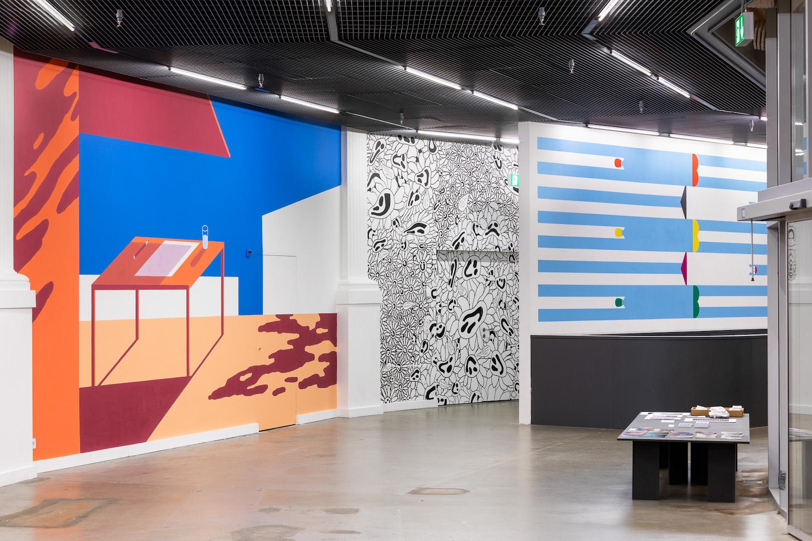 Gruppenausstellung WANDZEICH(N)EN  ©Kunsthalle Luzern / Kilian Bannwart