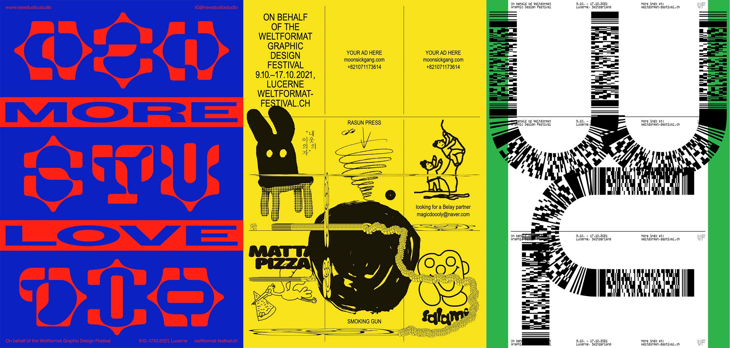 Jährlich stattfindendes Festival für Graphic Design